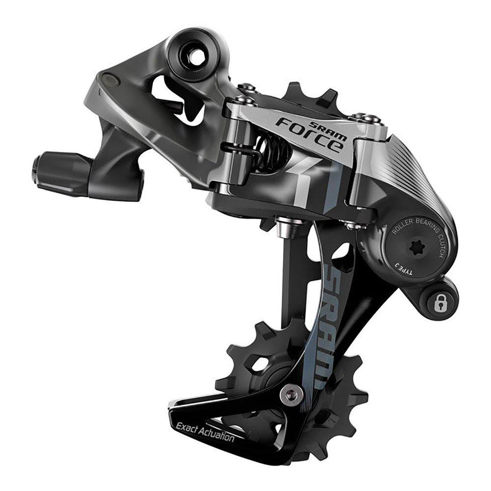 SRAM Force 1 Type 3.0 Rear Derailleur - Grey, Long Cage, 11 Speed