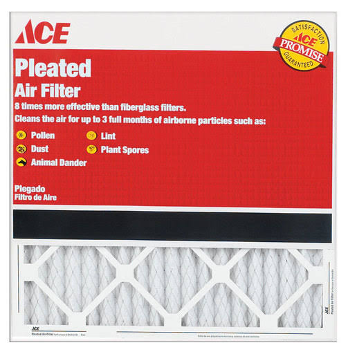 Ace Furnace Air Filter - Pleated