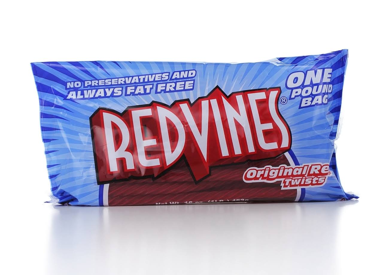 Red Vines Licorice Twists Candy - Original Red Twists, 16oz