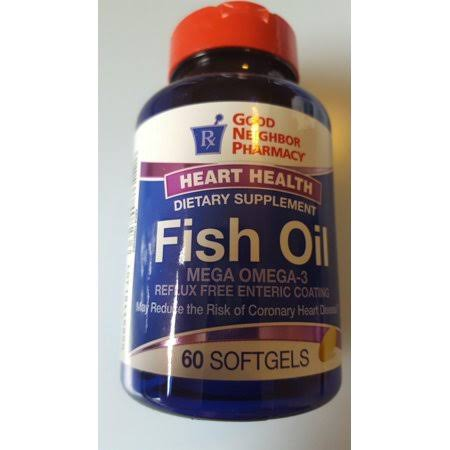 GNP Fish Oil 60 Softgels