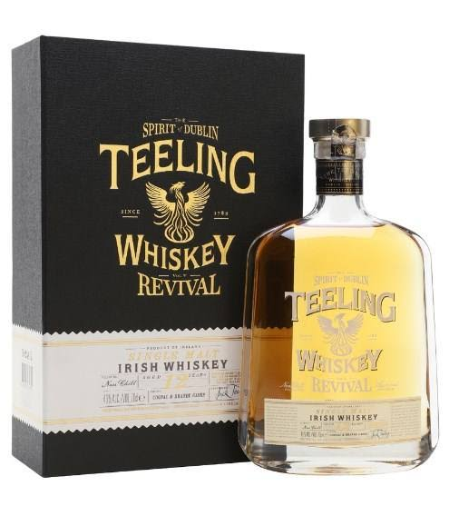 Teeling Revival Single Malt Irish Whiskey - 700ml