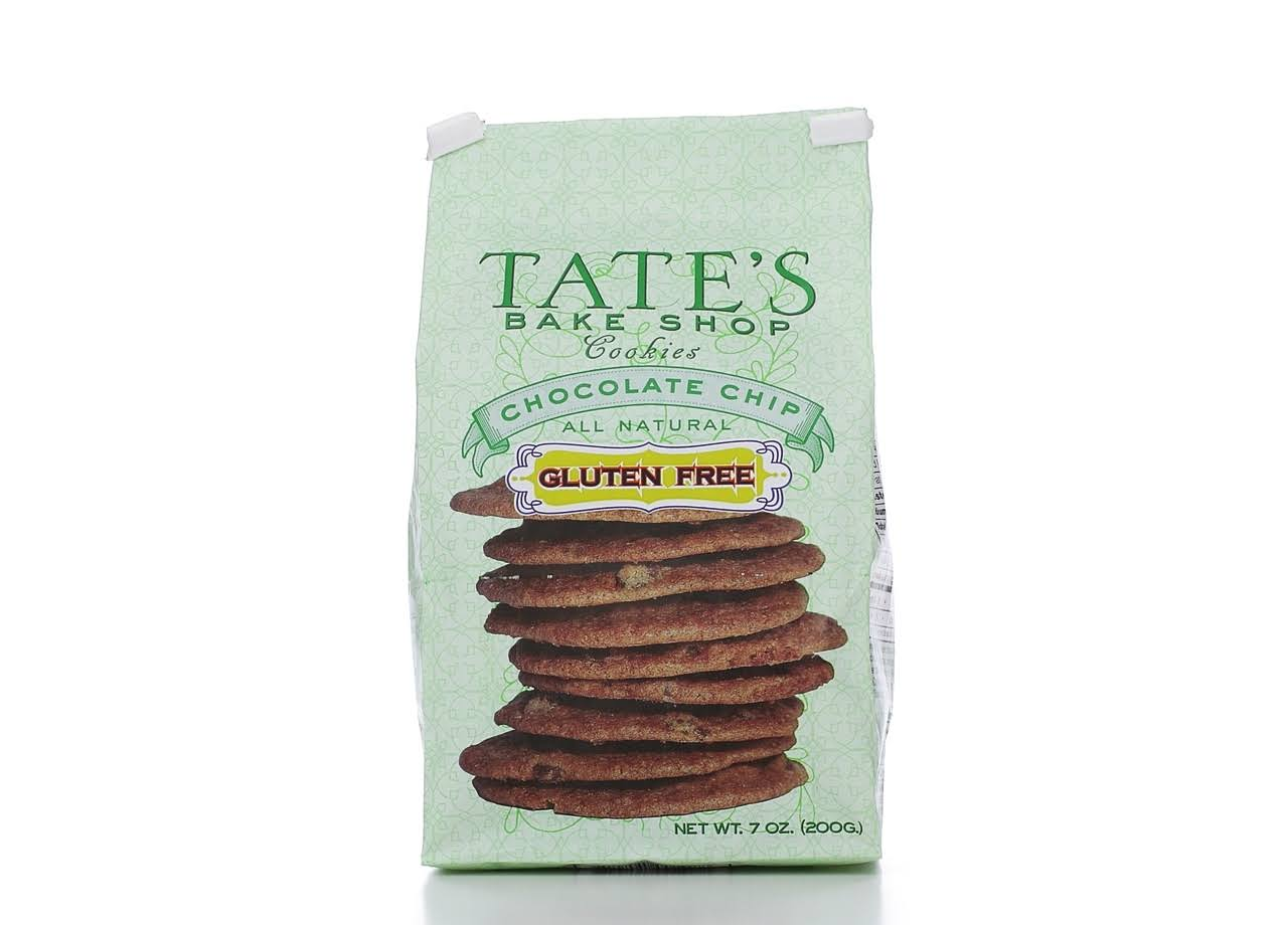 Tates Bake Shop Cookies, Gluten Free, Chocolate Chip - 7 oz