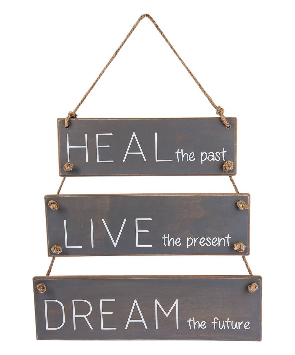 Ganz Wall Décor 'Heal - 'Heal The Past' Tiered Wall Sign