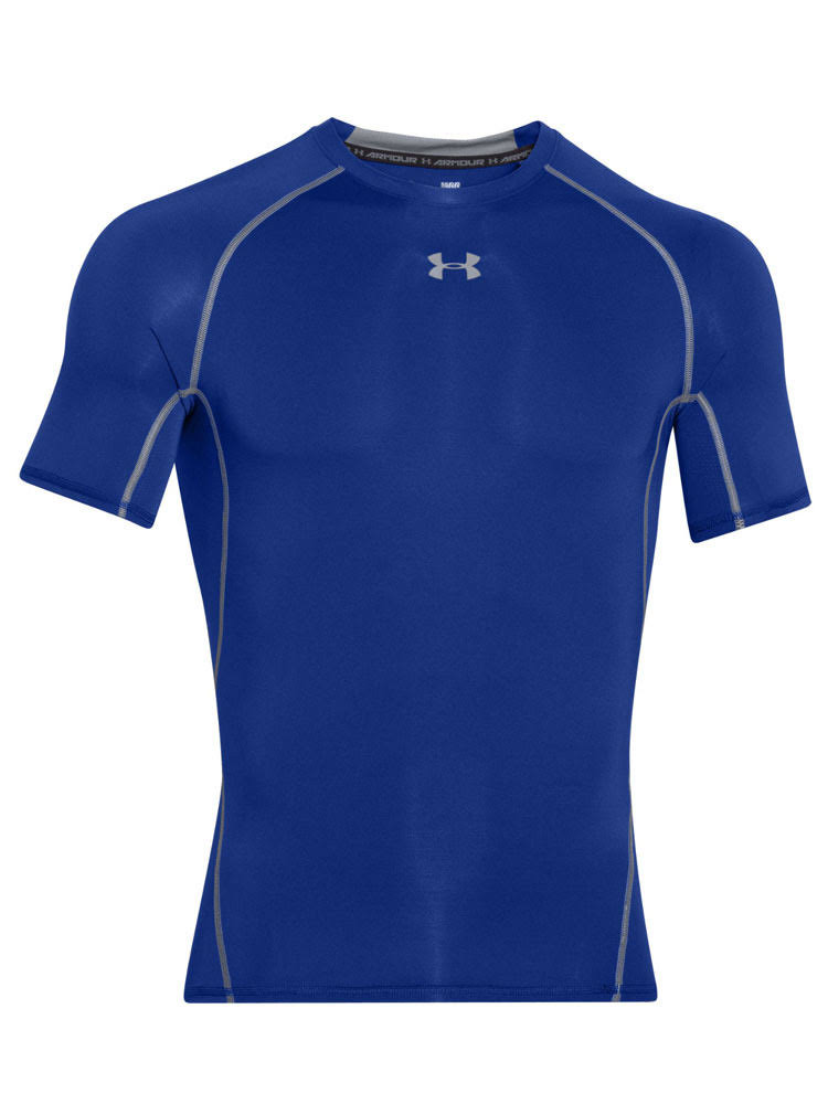 Under Armour Men's HeatGear Armour T-Shirt - Blue XS