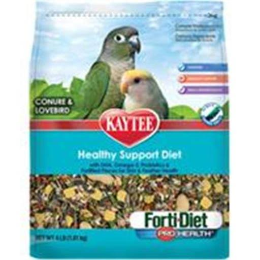 Kaytee Forti-diet Pro Health Conure and Lovebird Food - 4lbs