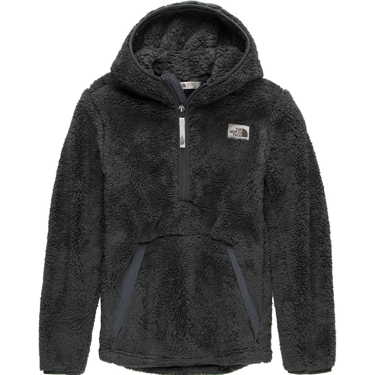 The North Face Boys' Campshire Hoodie - Asphalt Grey - M