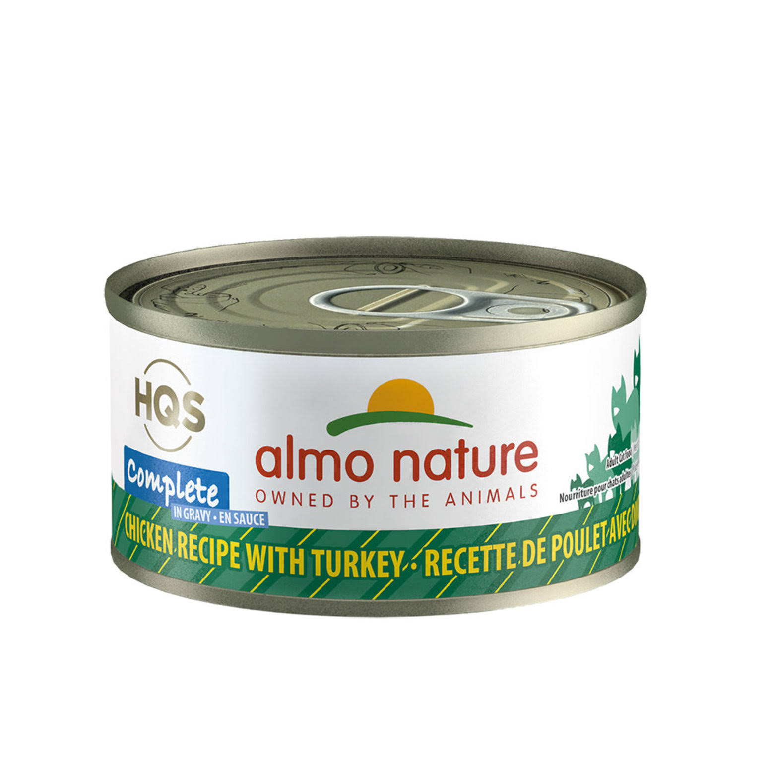 Almo Nature Complete Chicken Recipe w/ Turkey Wet Cat Food 2.47oz