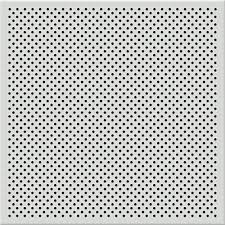 Tin Ceiling Tiles Home Depot by Toptile 2 Ft X 2 Ft Perforated Metal Ceiling Tiles Hcw55108