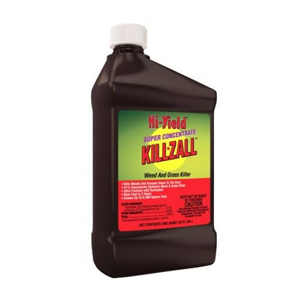 Hi Yield Killzall Weed and Grass Killer Super Concentrate - 32oz