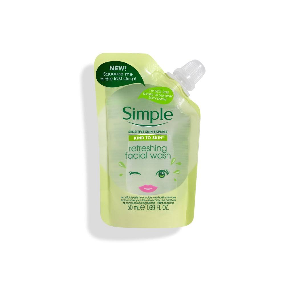 Simple Kind to Skin Refreshing Facial Wash - 50ml