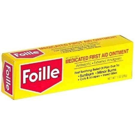 Foille Medicated First-Aid Ointment