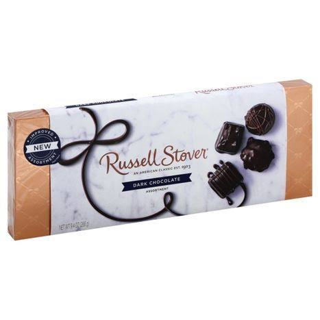 Russell Stover Assortment, Dark Chocolate - 9.4 oz