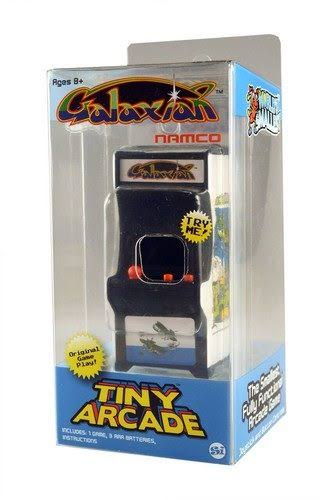 Tiny Arcade Galaxian Miniature Arcade Game Toy