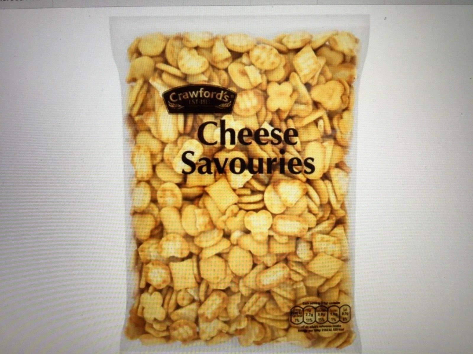 Crawford's Cheese Savouries - 325g