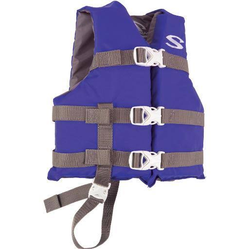 Stearns Classic Child Life Jacket - Blue, 30lbs to 50lbs