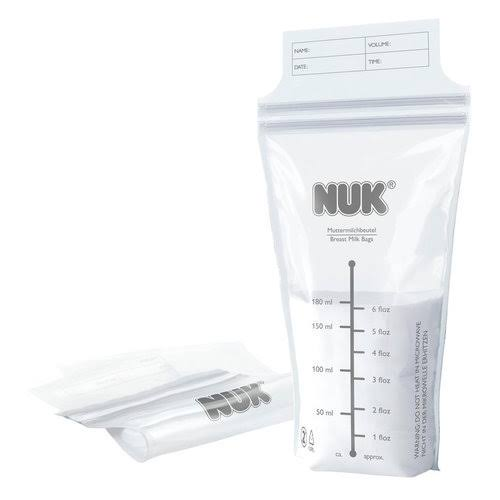 Nuk Breast Milk Bags - 25 Pieces