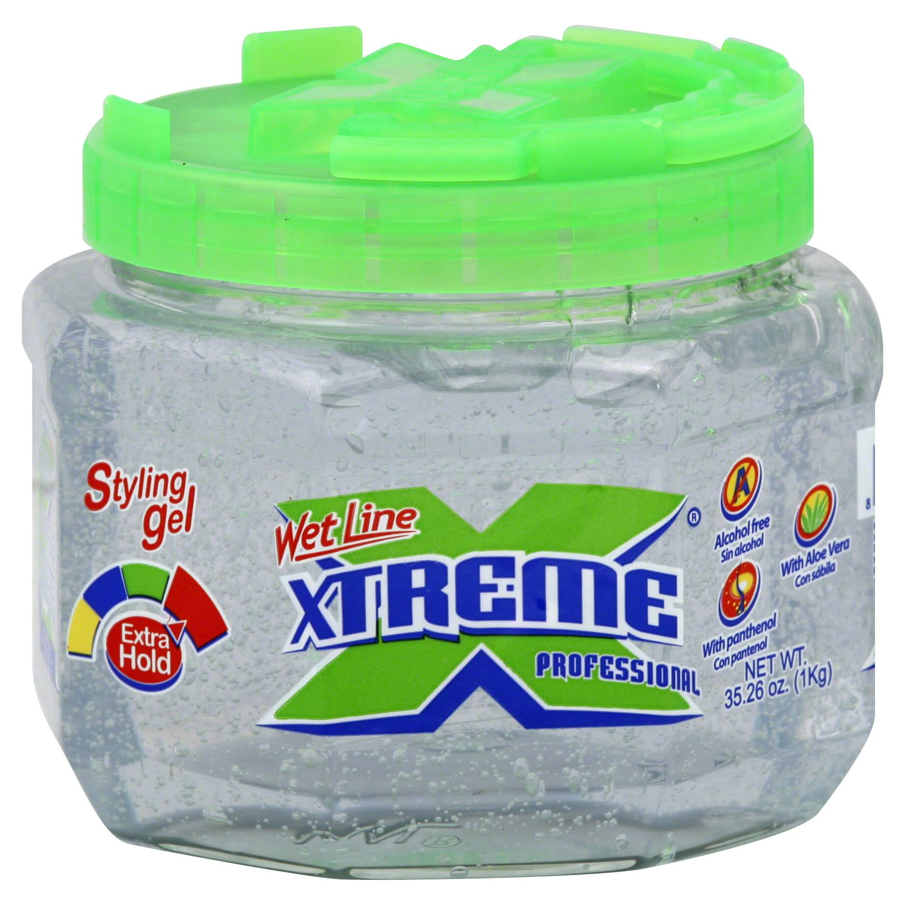 Wet Line Xtreme Professional Styling Gel - Extra Hold, Clear, 35.26oz