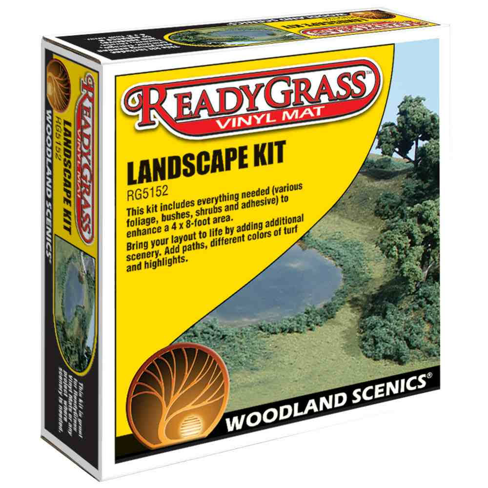 Woodland Scenics N/HO LandScape Kit Train Scenery