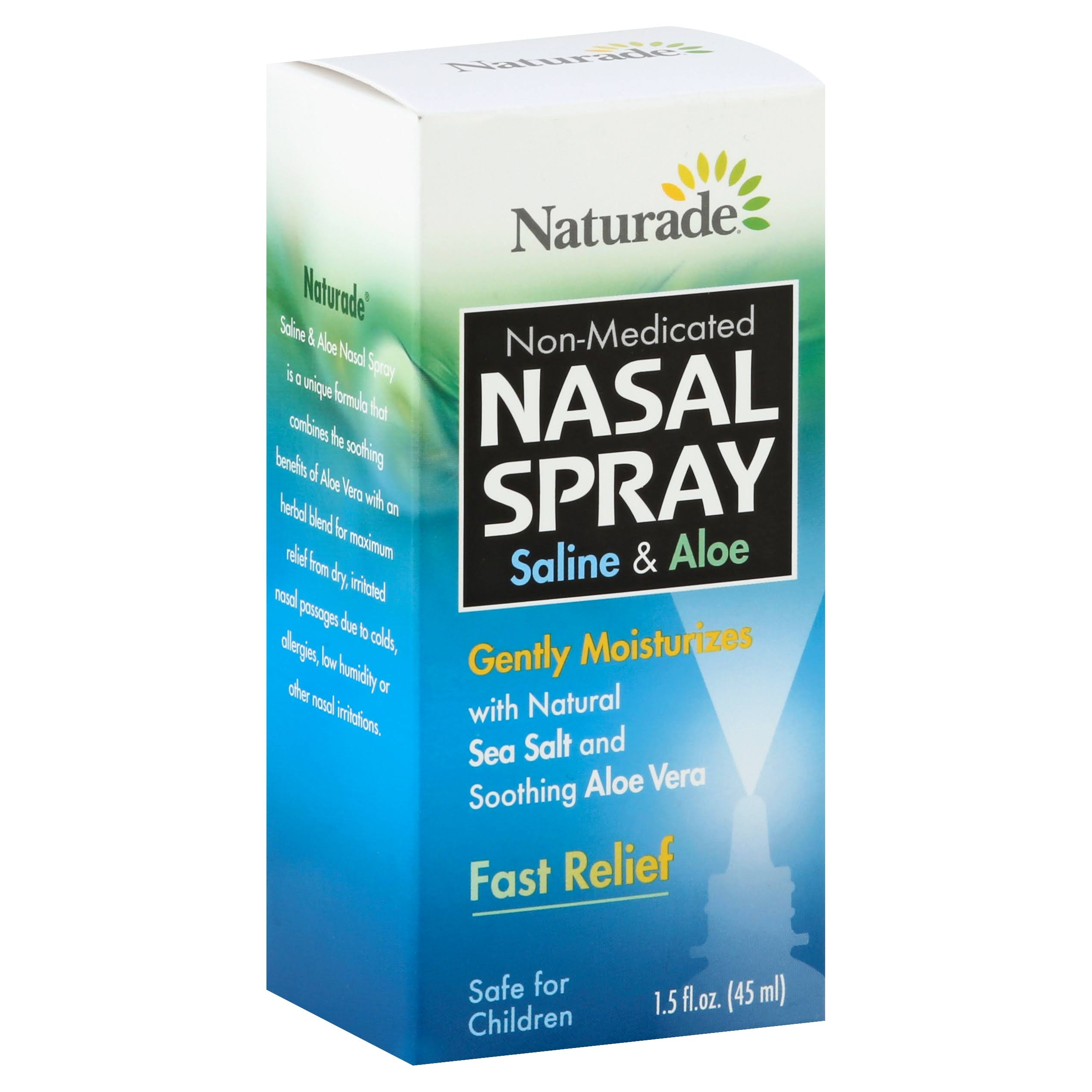 Naturade Saline & Aloe Nasal Spray - 1.5 oz