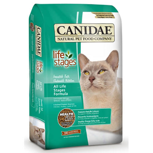 Canidae Life Stages Cat and Kitten Formula Food - Chicken, Turkey and Lamb, Dry, 8lbS