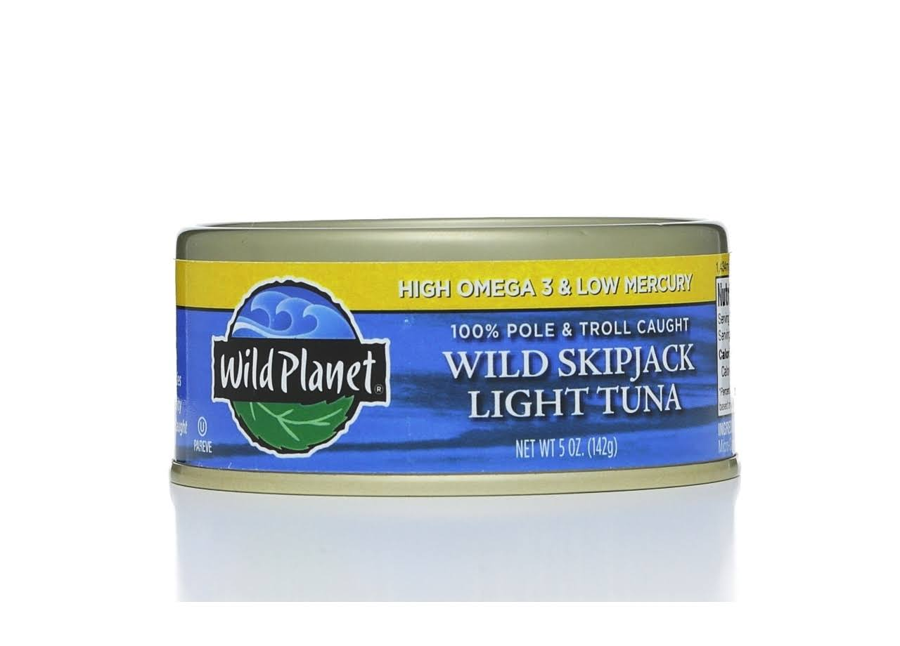 Wild Planet Wild Skipjack Light Tuna - 5 oz can