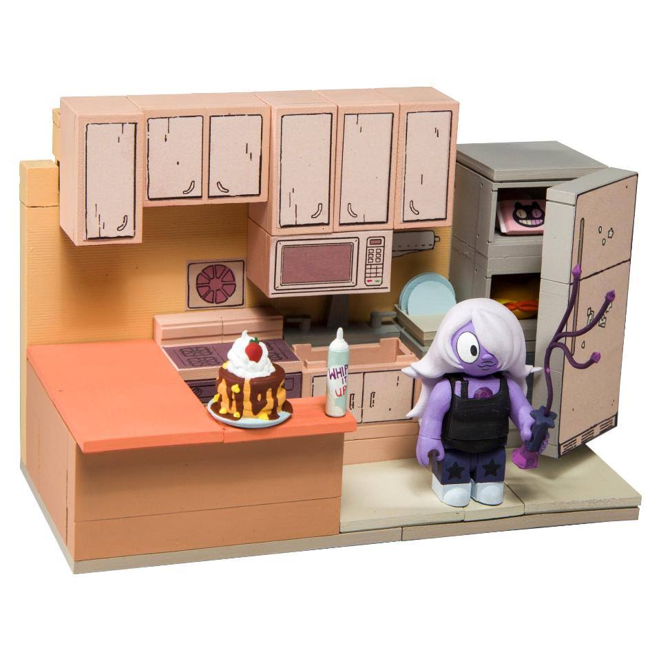 Mcfarlane Toys Steven Universe Amethyst and Steven's Kitchen Small Construction Toy Set