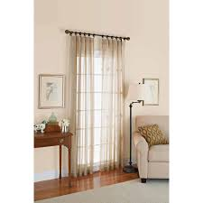 Black Sheer Curtains Walmart by Better Homes And Gardens Satin Stripe 84