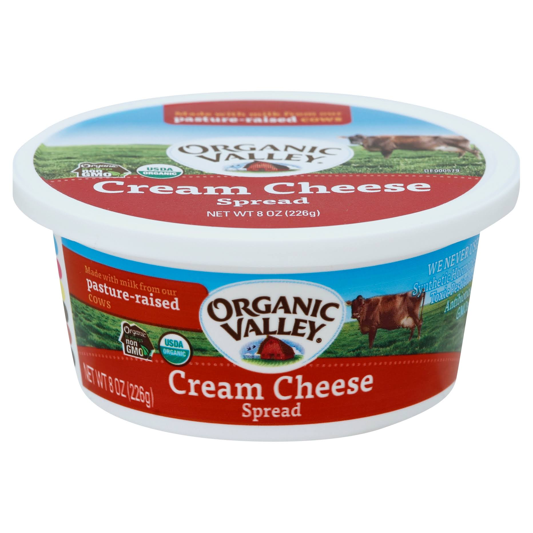 Organic Valley Cream Cheese Spread - 8 oz
