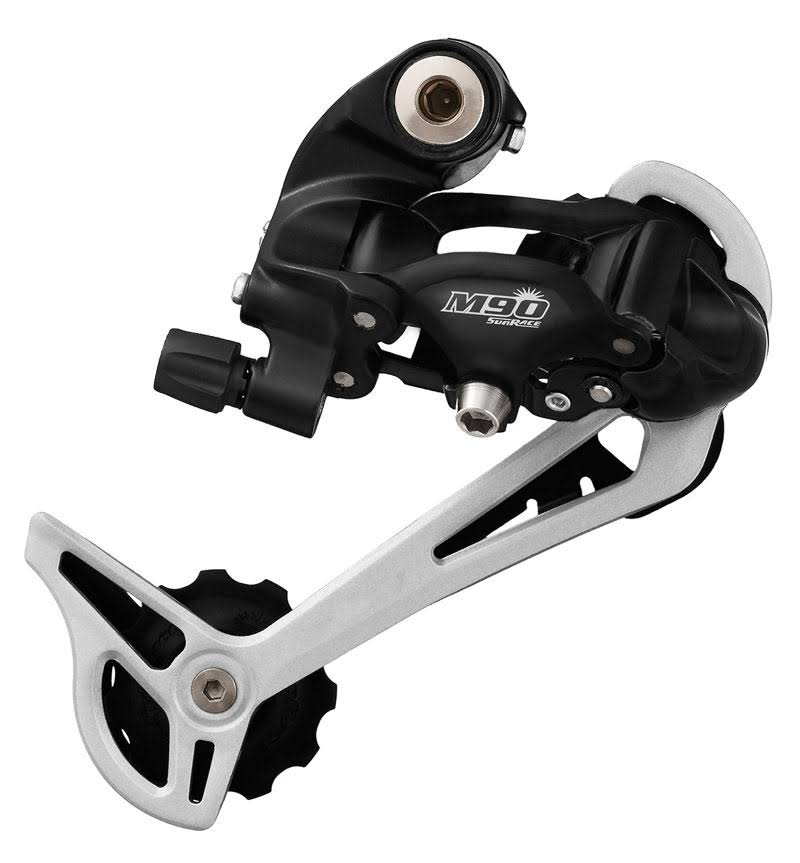 Sunrace Rear Derailleur - 9 Speed, Black