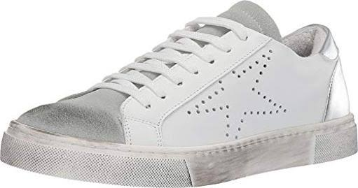 Steve Madden Rezza Star White Sneakers