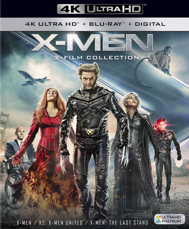 X-men Trilogy 4K UHD [Blu-ray]