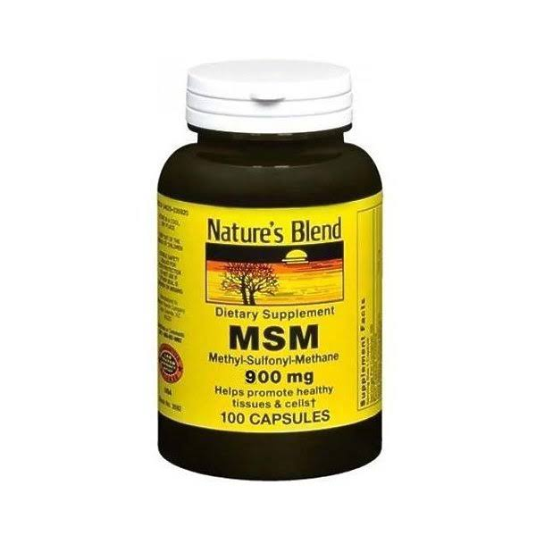 Nature's Blend MSM Dietary Supplement - 1000mg, 100ct