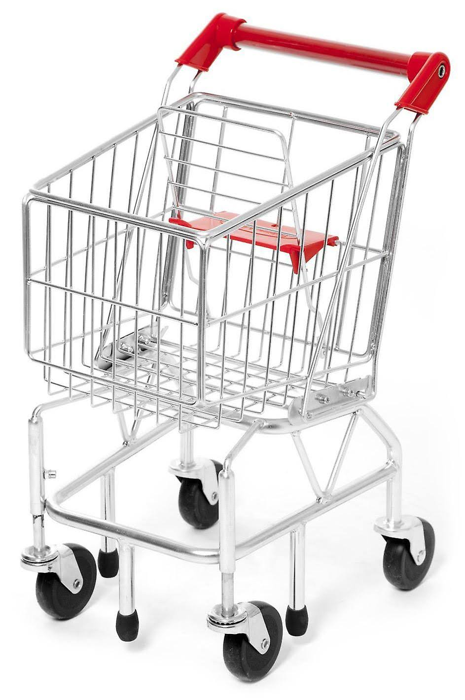Melissa & Doug Metal Shopping Trolley Cart Toy