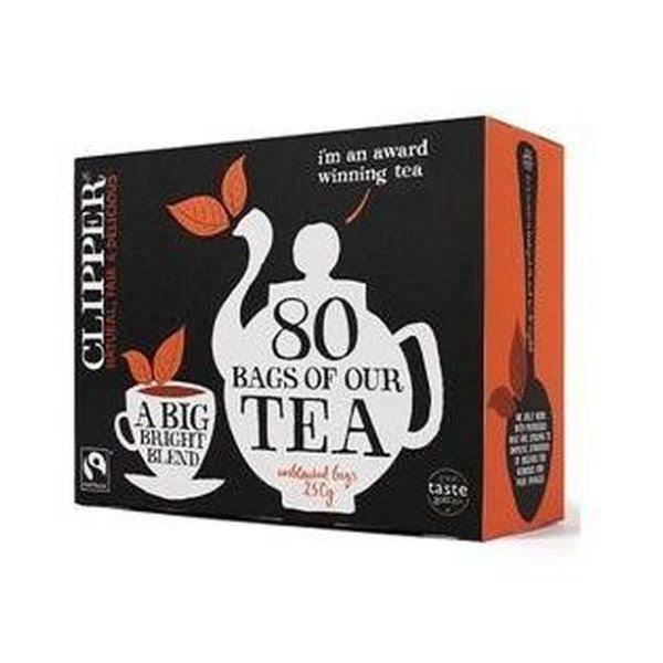 Clipper Organic Everyday Tea - 80 Tea Bags