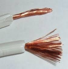 Estos se diferencian de los alambres por que tienen muchos filamentos