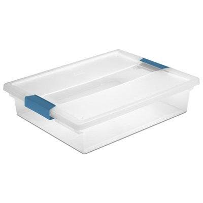 Sterilite Clip Storage Box - Large