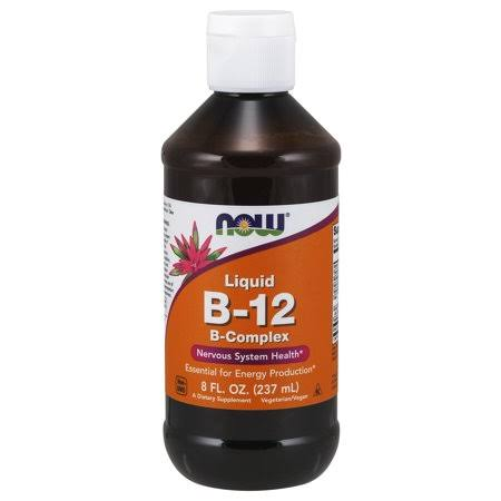 Now Foods Vitamin B-12 Complex Liquid - 237ml