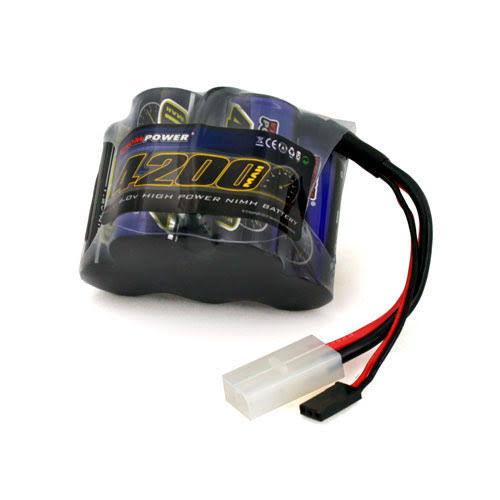 Venom 5 Cell Hump Receiver NiMH Battery - 6V, 4200 mAh