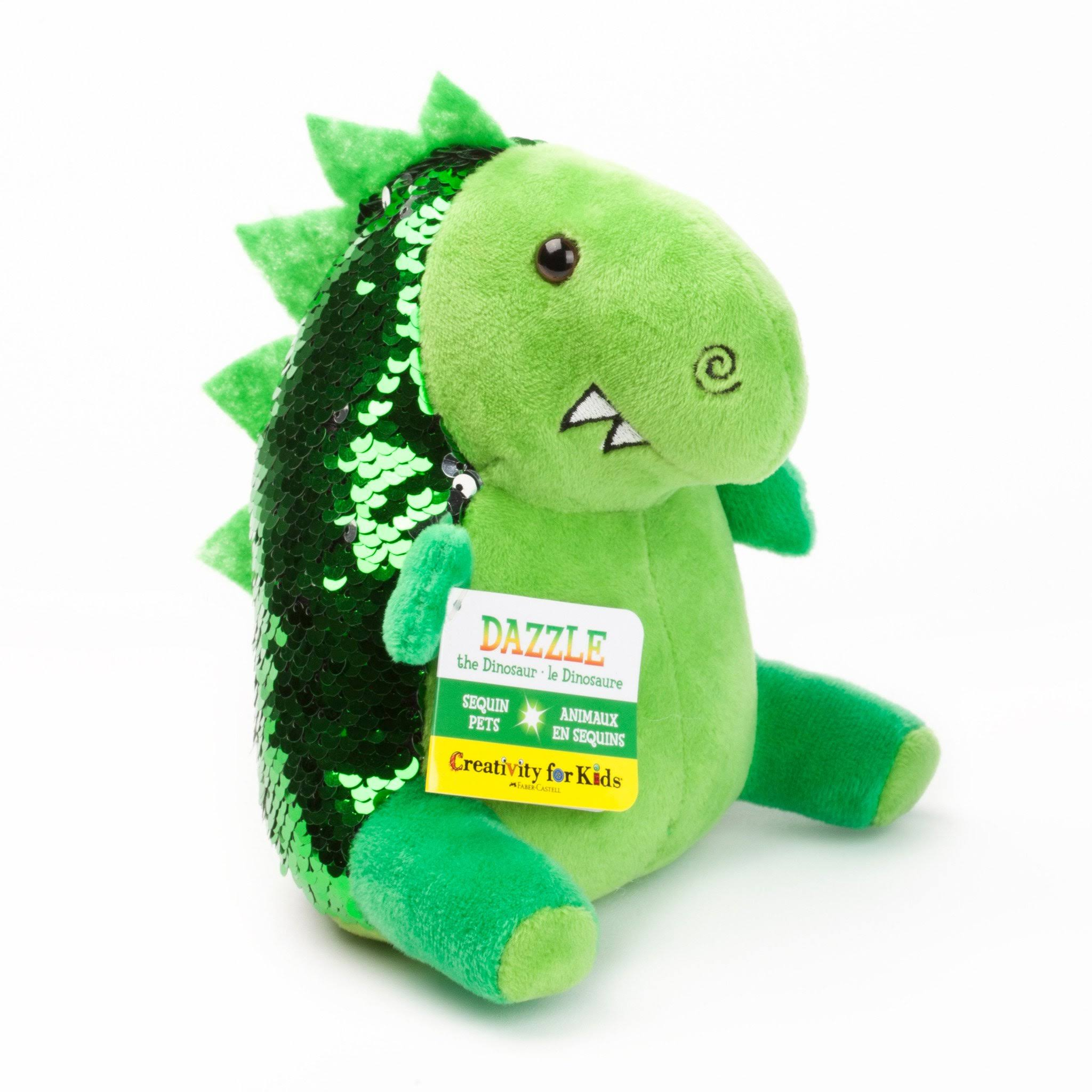 Creativity for Kids | Sequin Pets Mini ~ Dazzle The Dinosaur