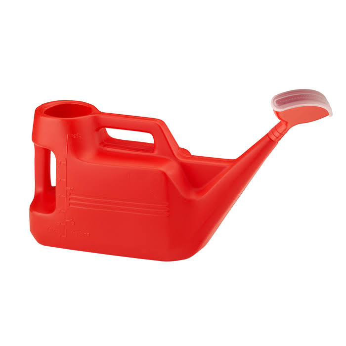 Strata Weed Control Red Watering Can - 7 Litre