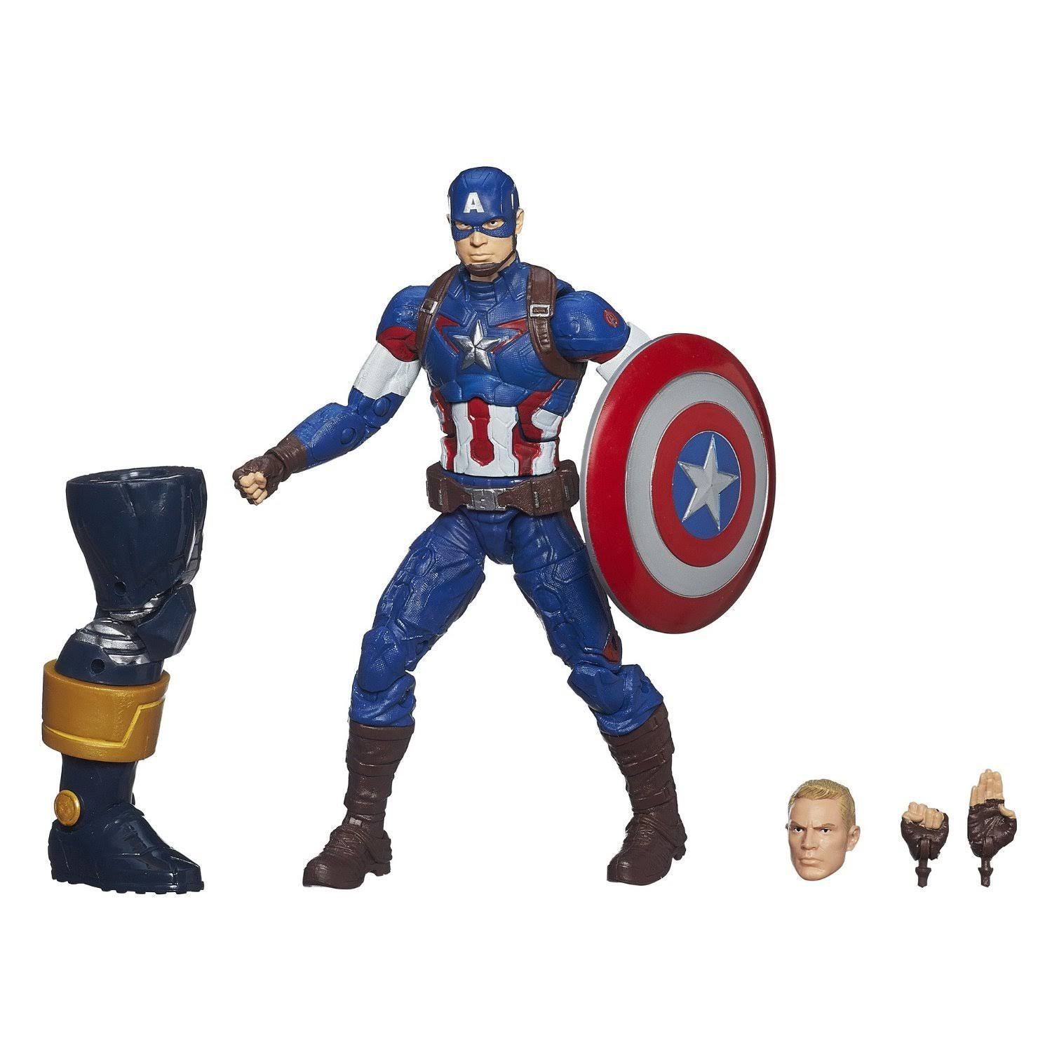 Marvel Legends Infinite Series Captain America Action Figure