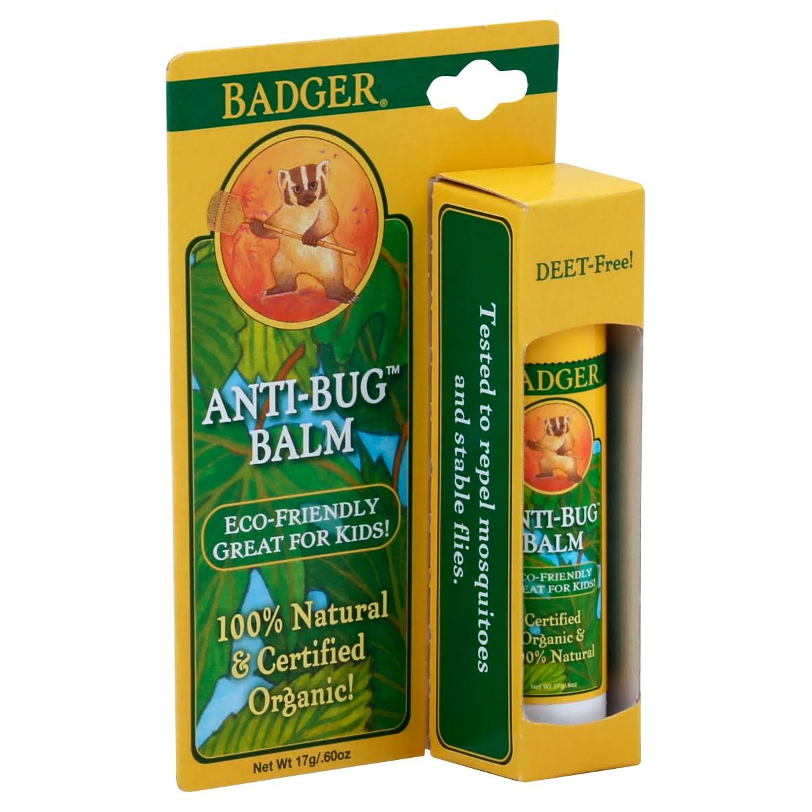 Badger Company Anti-bug Balm - 0.60oz