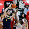 No. 3 Michigan men's basketball lands final punch in 92-87 win at ...
