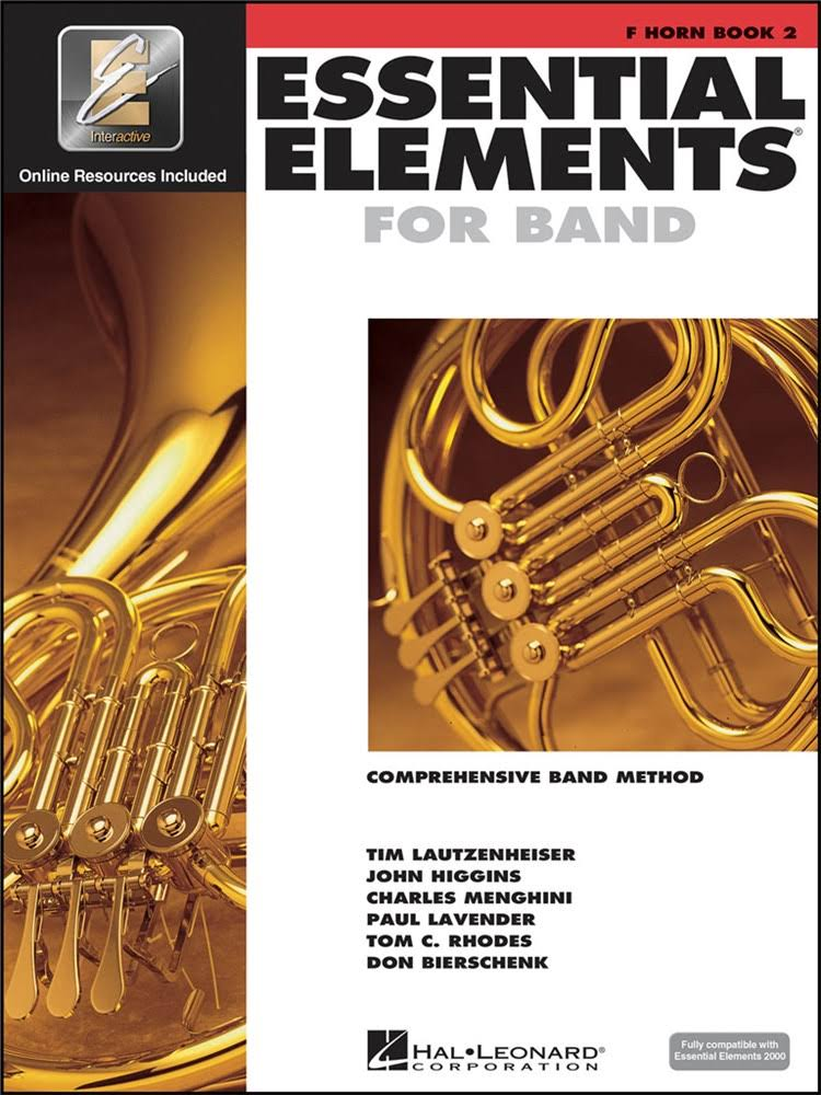 Hal Leonard Essential Elements For Band F Horn Book 3