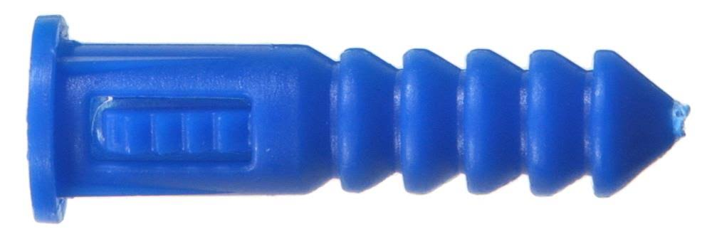 Hillman Fasteners Ribbed Plastic Anchor - 3 Pack