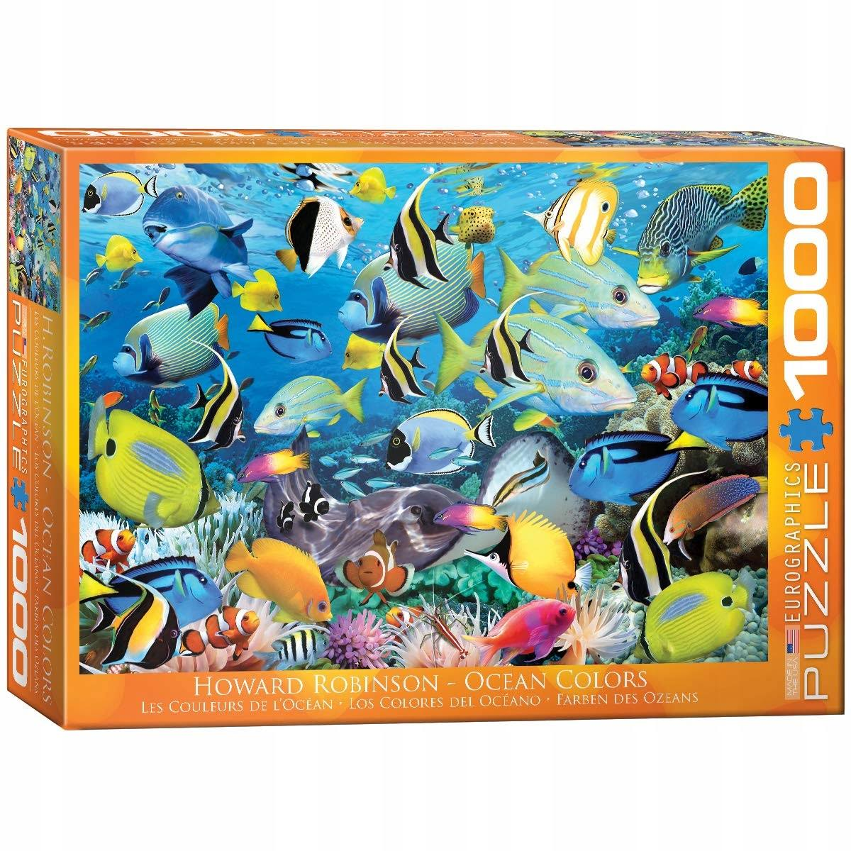 EuroGraphics Colour Reef 1000-Piece Puzzle