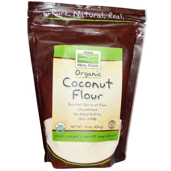 Now Foods Organic Coconut Flour - 454g