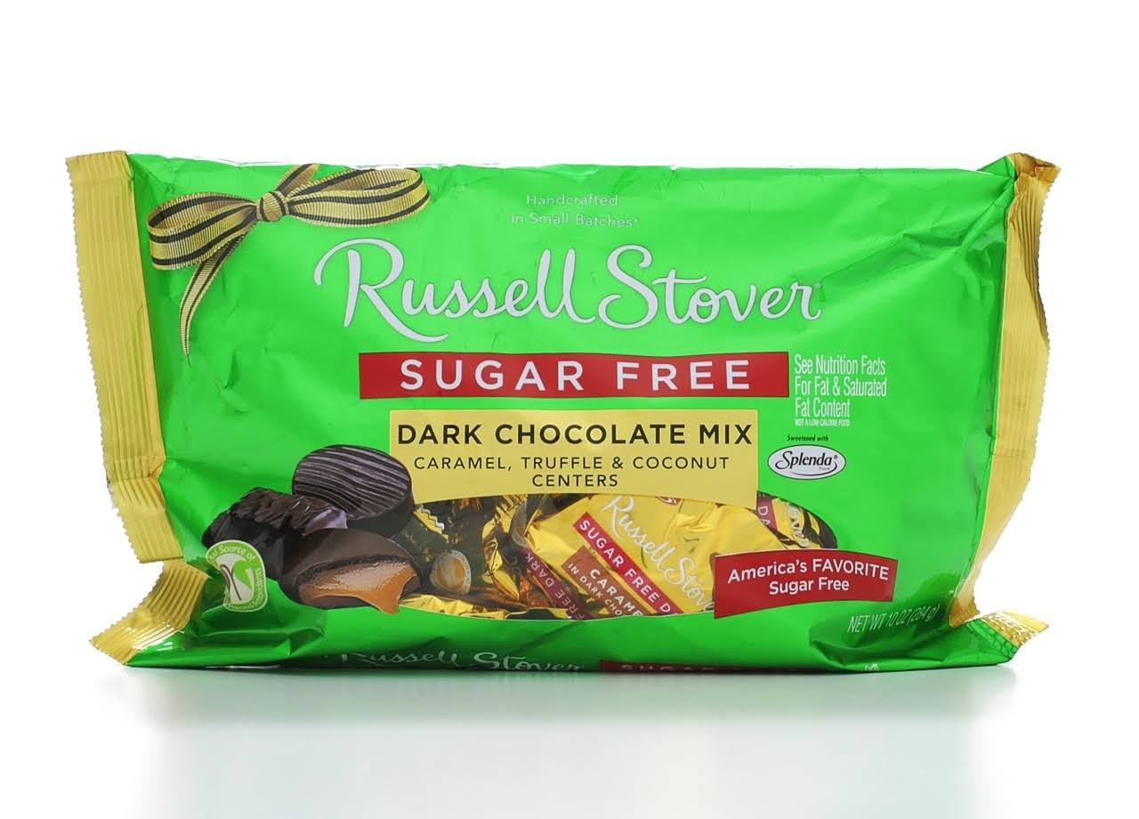 Russell Stover Sugar Free Dark Chocolate Mix - 10oz