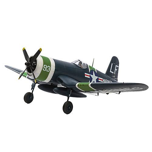 Eflite EFL8550 Airplane RC Kit - F4U-4 Corsair, 1.2m BNF, Basic Horizon
