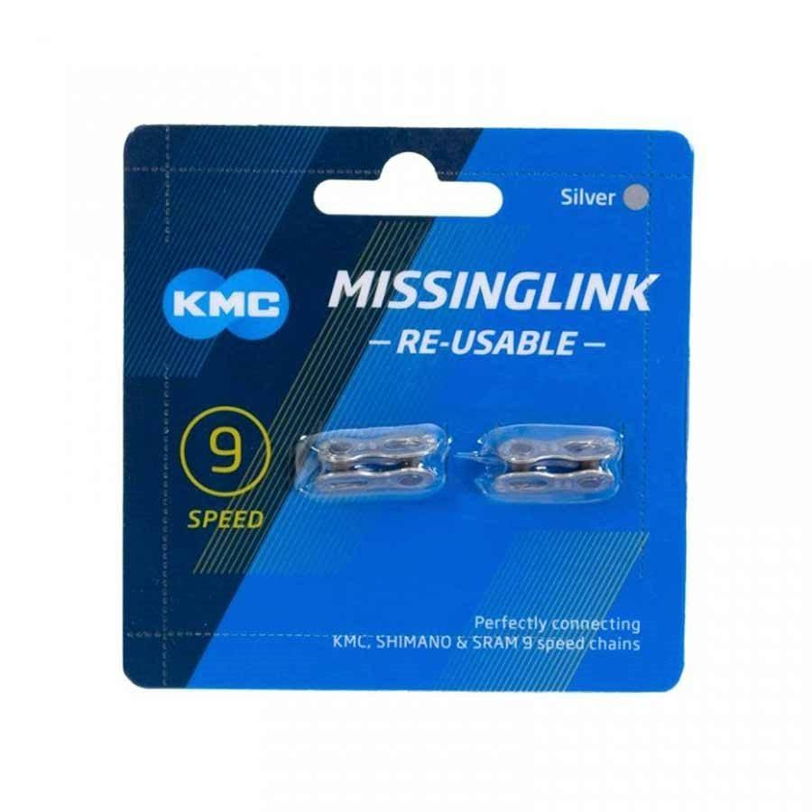 KMC Bicycle Chain Missing Link - 2pk, 9 Speed